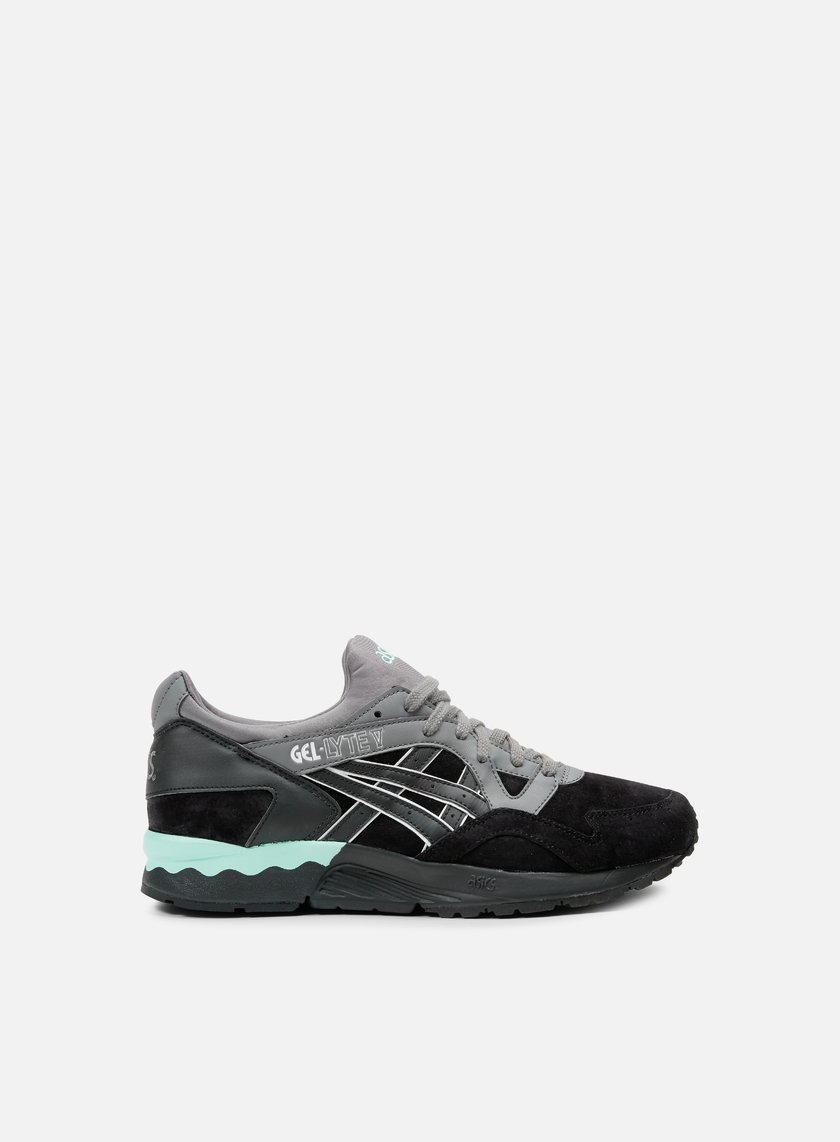 Asics - Gel Lyte V, Black/Black/Teal