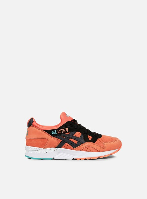 sneakers asics gel lyte v coral black