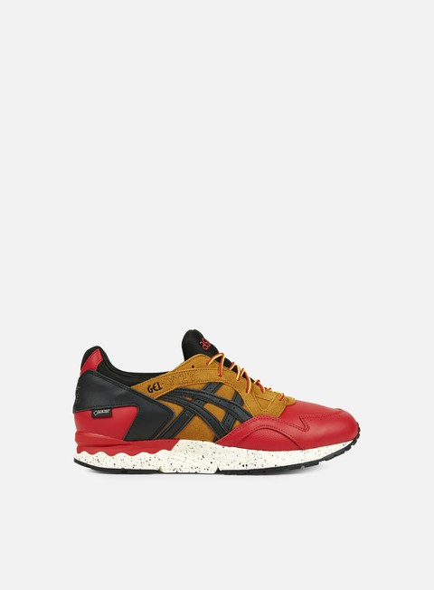sneakers asics gel lyte v g tx red black