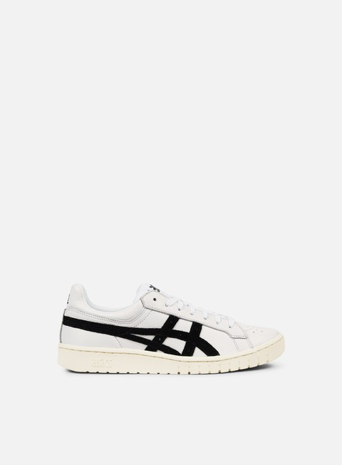 sneakers asics gel ptg white black