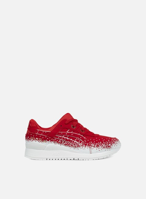 sneakers asics wmns gel lyte iii red red