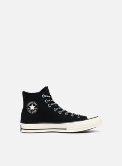 Converse - All Star 1970s Gore-Tex Hi Canvas, Black/Black/Egret