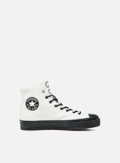 Converse - All Star 1970s Gore-Tex Hi Canvas, Vintage White/Black/Brown