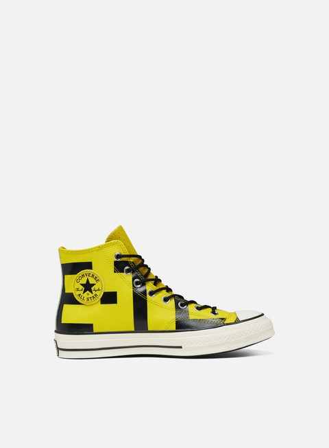 Outlet e Saldi Sneakers Alte Converse All Star 1970s Gore-Tex Hi Leather