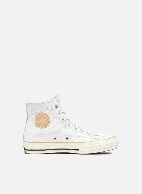 sneakers converse all star 1970s hi leather white light fawn egret