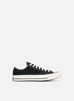 Converse - All Star 70 OX Vintage Canvas, Black/Black/Egret