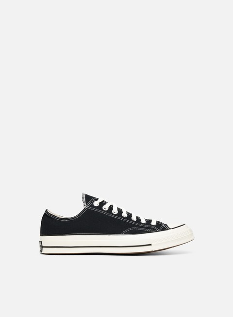 sneakers converse all star 70 ox vintage canvas black black egret