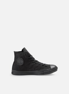 Converse - All Star Hi Canvas, Black Monochrome