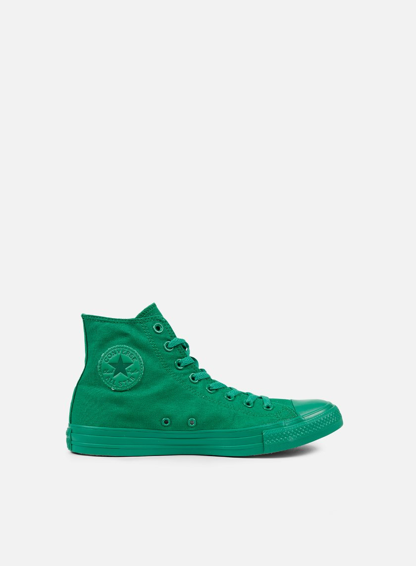 Converse - All Star Hi Canvas, Bosphorous Green Monochrome