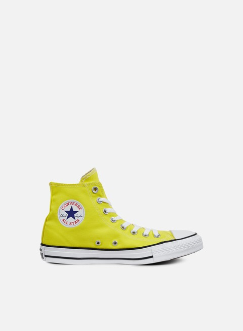 sneakers converse all star hi canvas fresh yellow