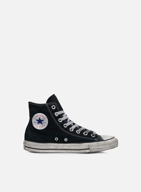 sneakers converse all star hi canvas ltd black smoke