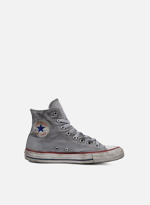 sneakers converse all star hi canvas ltd white smoke