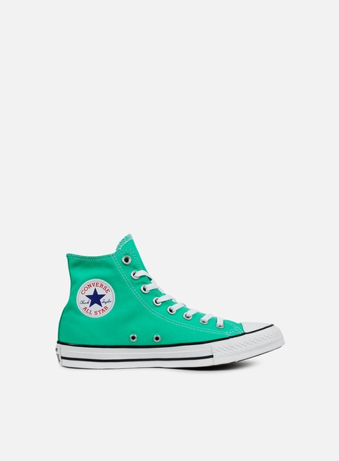 sneakers converse all star hi canvas menta