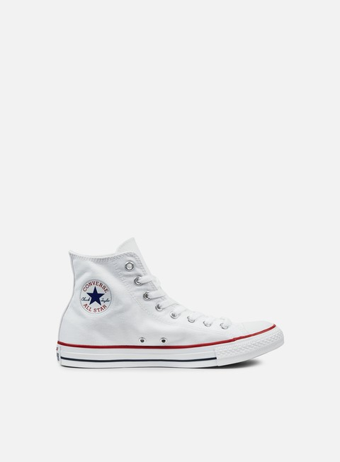 sneakers converse all star hi canvas optical white