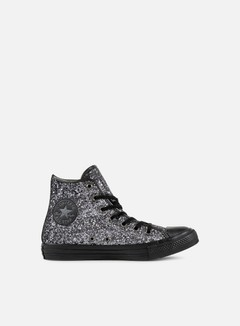 Converse - All Star Hi Glitter, Brunito/Black/Thunder 1