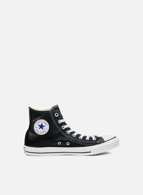 sneakers converse all star hi leather black