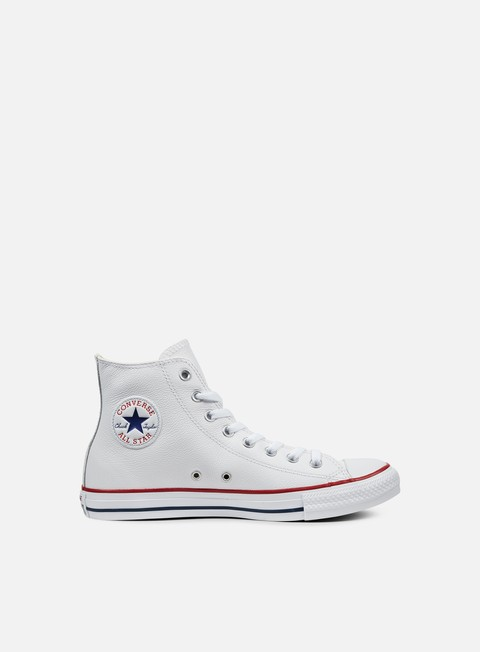 Outlet e Saldi Sneakers Alte Converse All Star Hi Leather