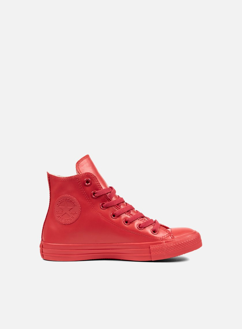 Red Converse All Star Hi Tops Taglia 4