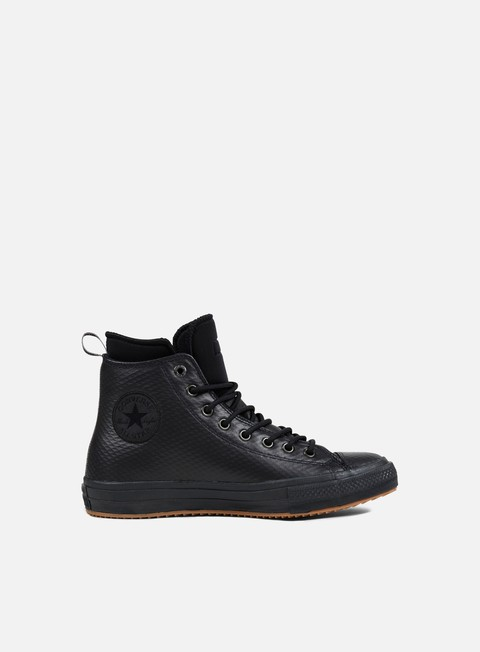 sneakers converse all star ii hi boot black black black