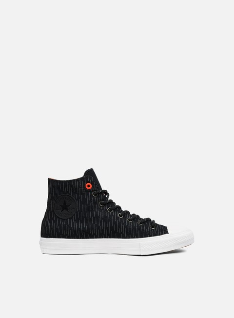 sneakers converse all star ii hi shield canvas black reflective lava