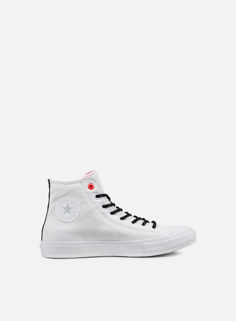 sneakers converse all star ii hi shield canvas white lava gum