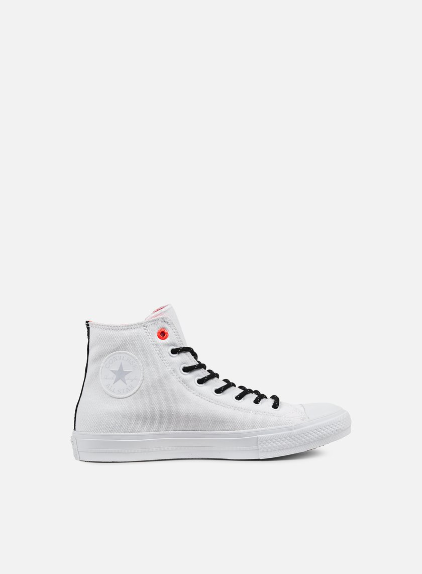 Converse - All Star II Hi Shield Canvas, White/Lava/Gum