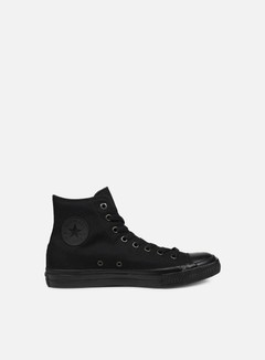 Converse - All Star II Hi Tencel Canvas, Black Monochrome