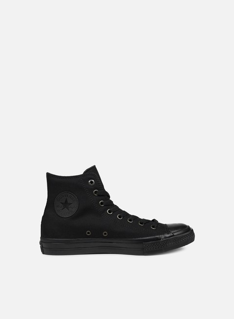 sneakers converse all star ii hi tencel canvas black monochrome