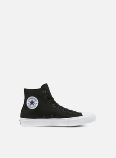 Converse - All Star II Hi Tencel Canvas, Black/White