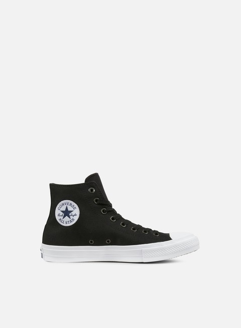 sneakers converse all star ii hi tencel canvas black white