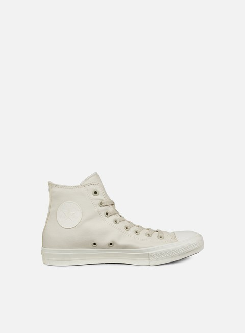 sneakers converse all star ii hi tencel canvas parchment monochrome