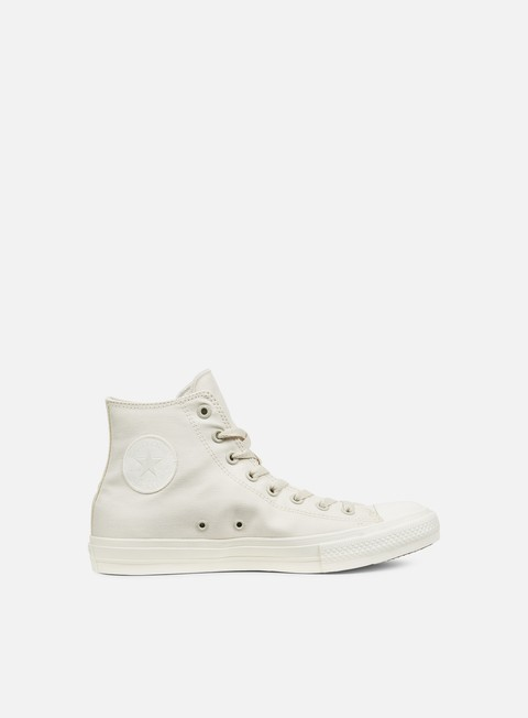 sneakers converse all star ii hi tencel canvas parchment natural monochrome