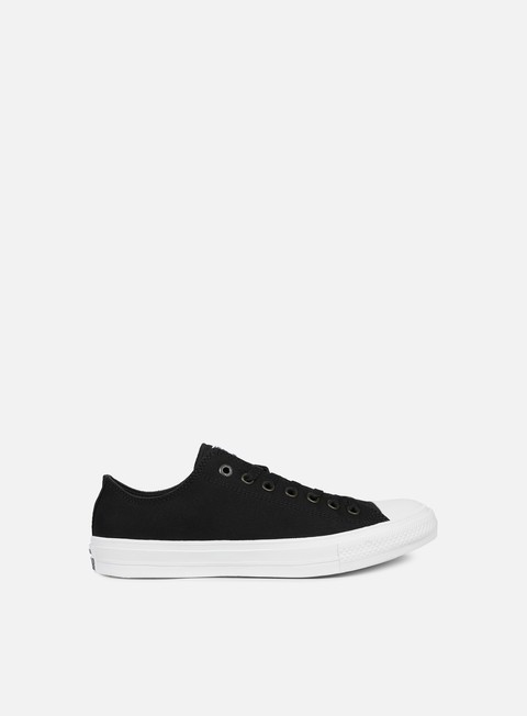 sneakers converse all star ii ox tencel canvas black white navy