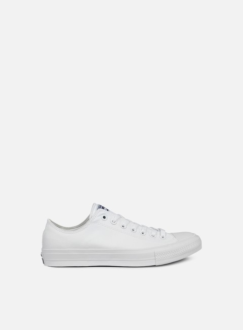 sneakers converse all star ii ox tencel canvas white white navy