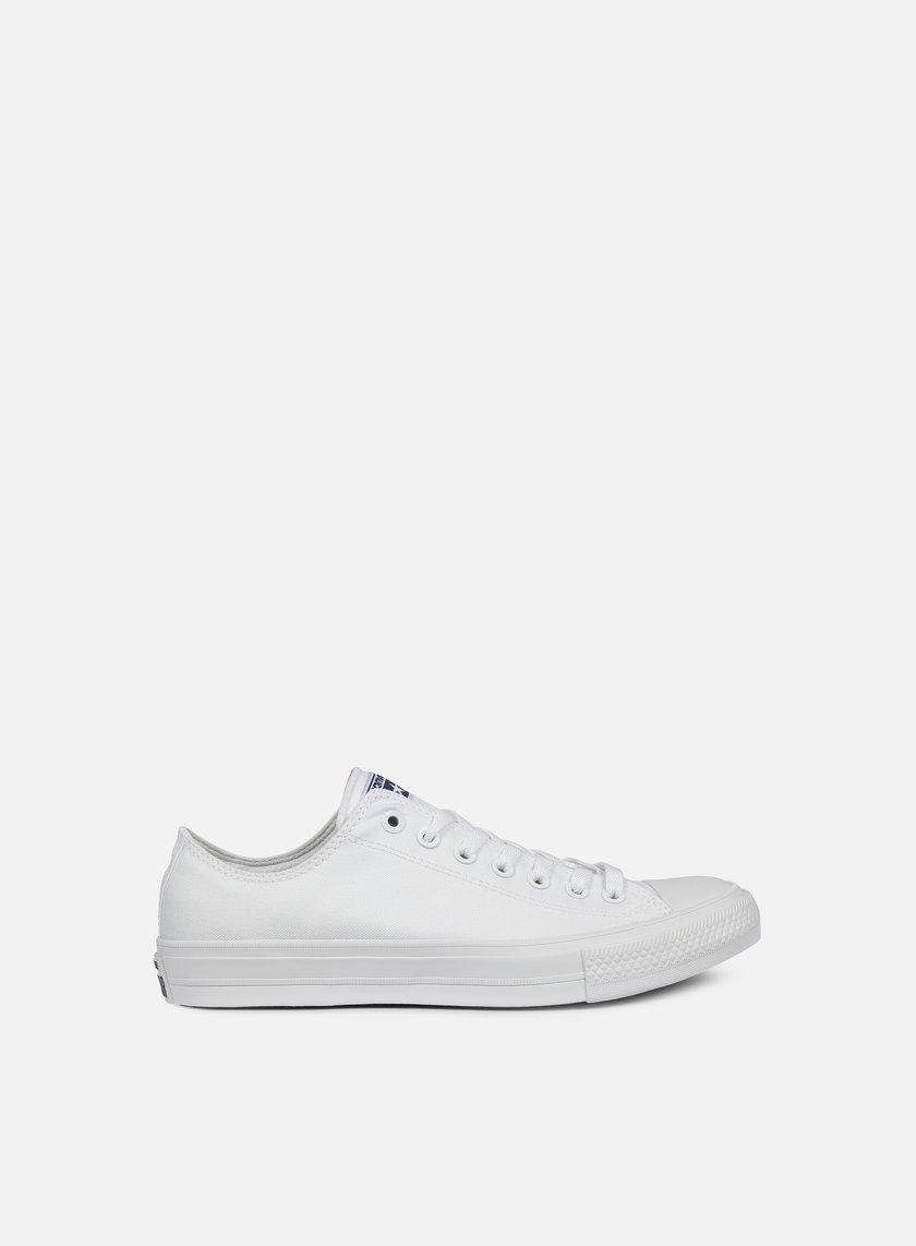 Converse - All Star II Ox Tencel Canvas, White/White/Navy