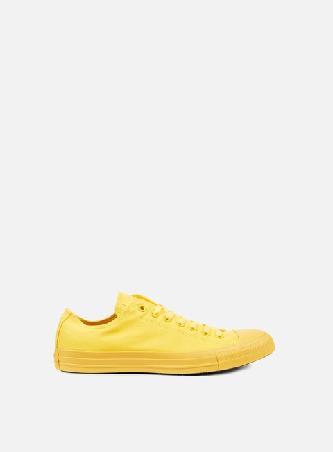 sneakers converse all star ox canvas aurora yellow monochrome