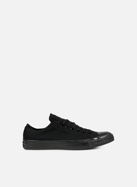 sneakers converse all star ox canvas black monochrome