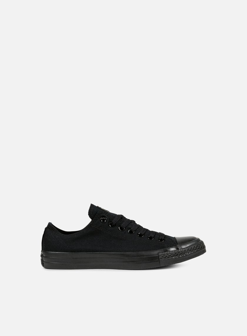 Converse - All Star Ox Canvas, Black Monochrome