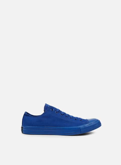 sneakers converse all star ox canvas road trip blue monochrome