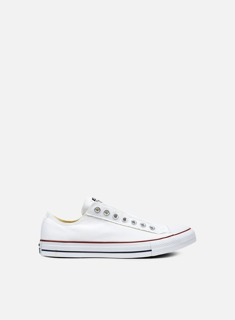 sneakers converse all star ox canvas slip on optical white