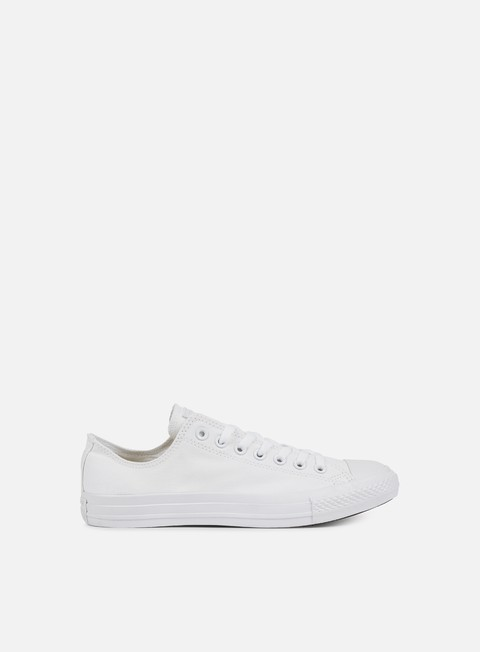 sneakers converse all star ox canvas white monochrome