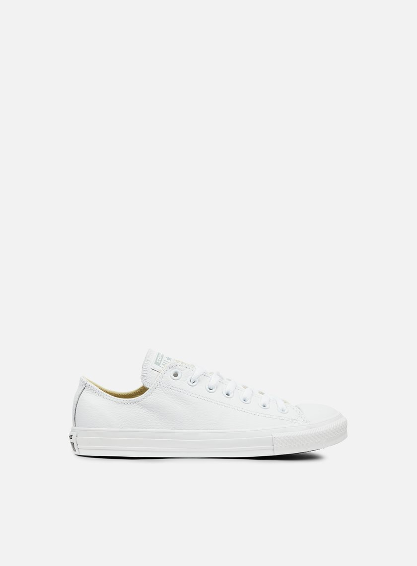 Converse - All Star Ox Leather, White Monochrome