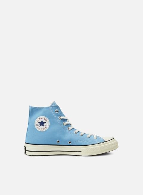 sneakers converse all star premium hi 1970s canvas heritage blue