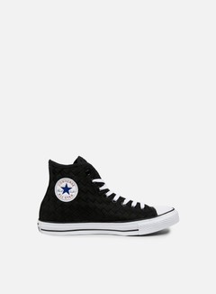 Converse - All Star Premium Hi Canvas Woven, Black/Black/White 1