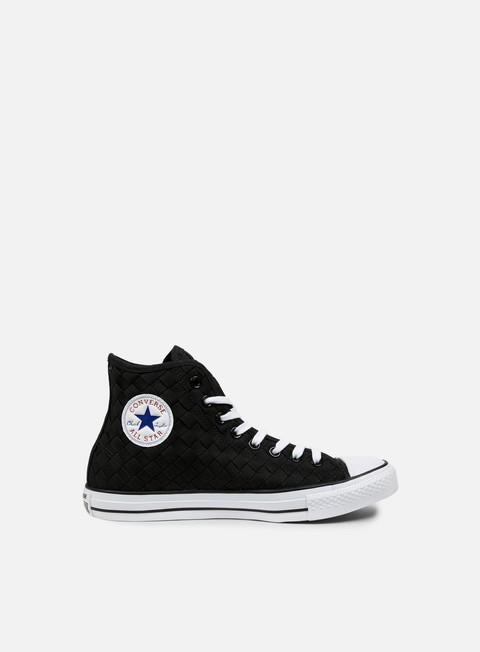 Outlet e Saldi Sneakers Alte Converse All Star Premium Hi Canvas Woven