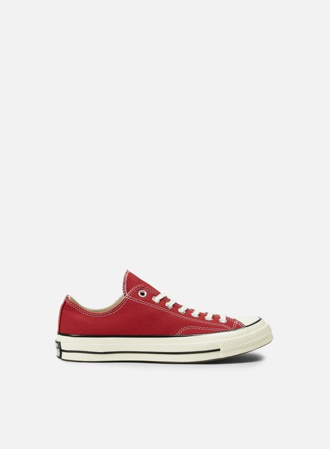 sneakers converse all star premium ox 1970s canvas crimson