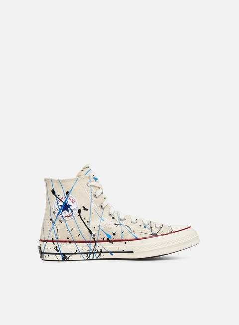 High Sneakers Converse Archive Paint Splatter Chuck 70 Hi