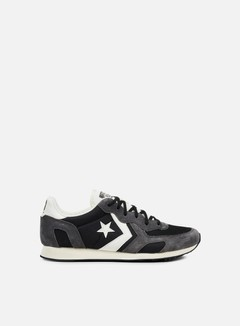 Converse - Auckland Racer Ox Nylon/Suede, Black/Off White