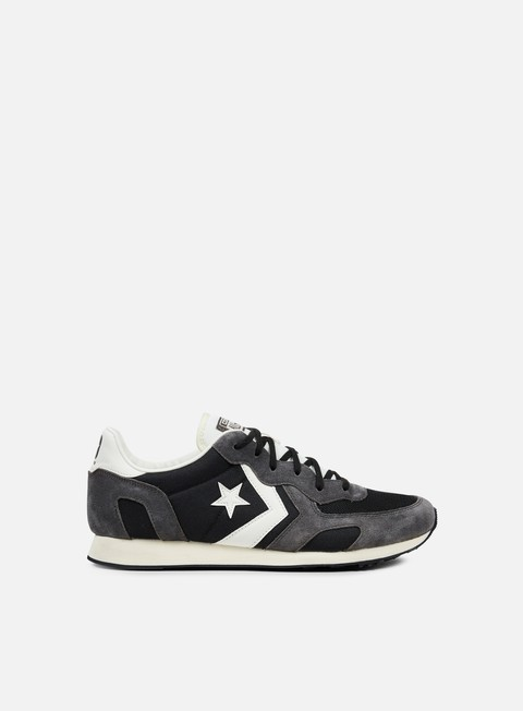 sneakers converse auckland racer ox nylon suede black off white