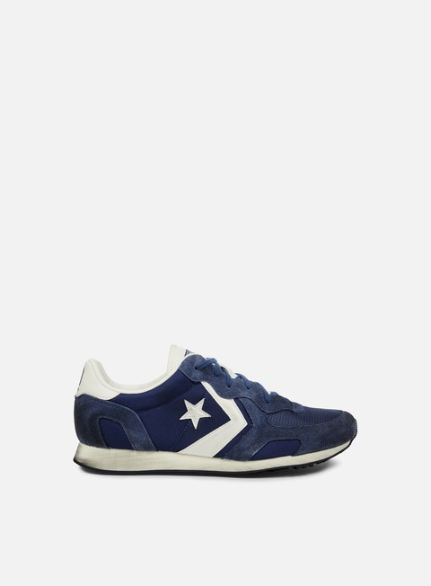sneakers converse auckland racer ox nylon suede navy off white